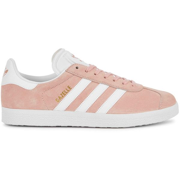 adidas originali gazzella luce rosa camoscio formatori dimensioni (115