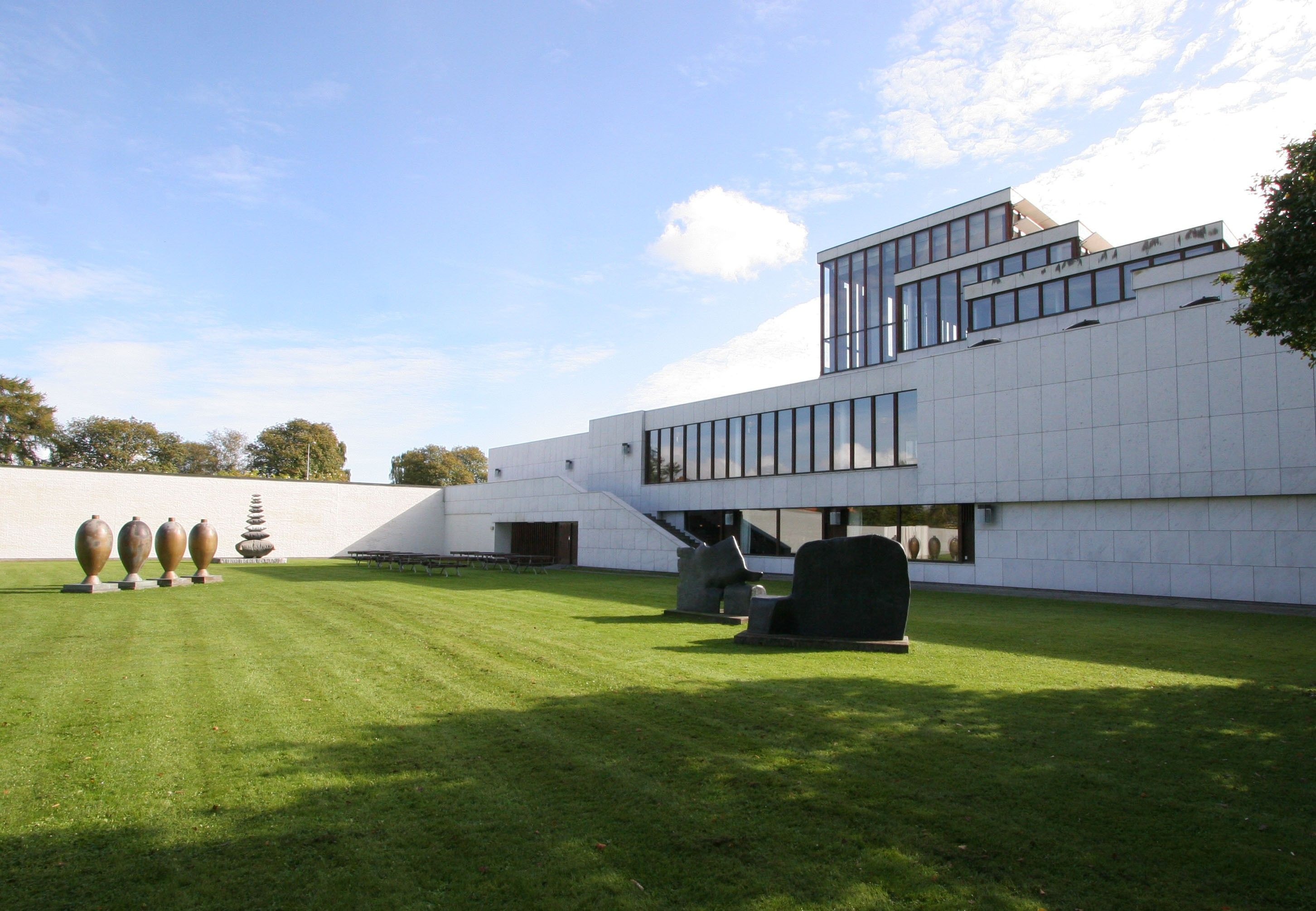 Modern Architecture Origin alvar aalto - kunsten museum of modern art aalborg (dänemark
