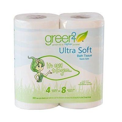 Green 2 Ulta Soft Bath Tissue (24x4Pack)