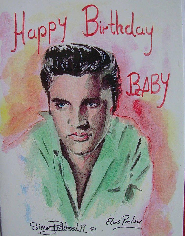 Elvis Presley Birthday Card This Unique Elvis Birthday Card Is