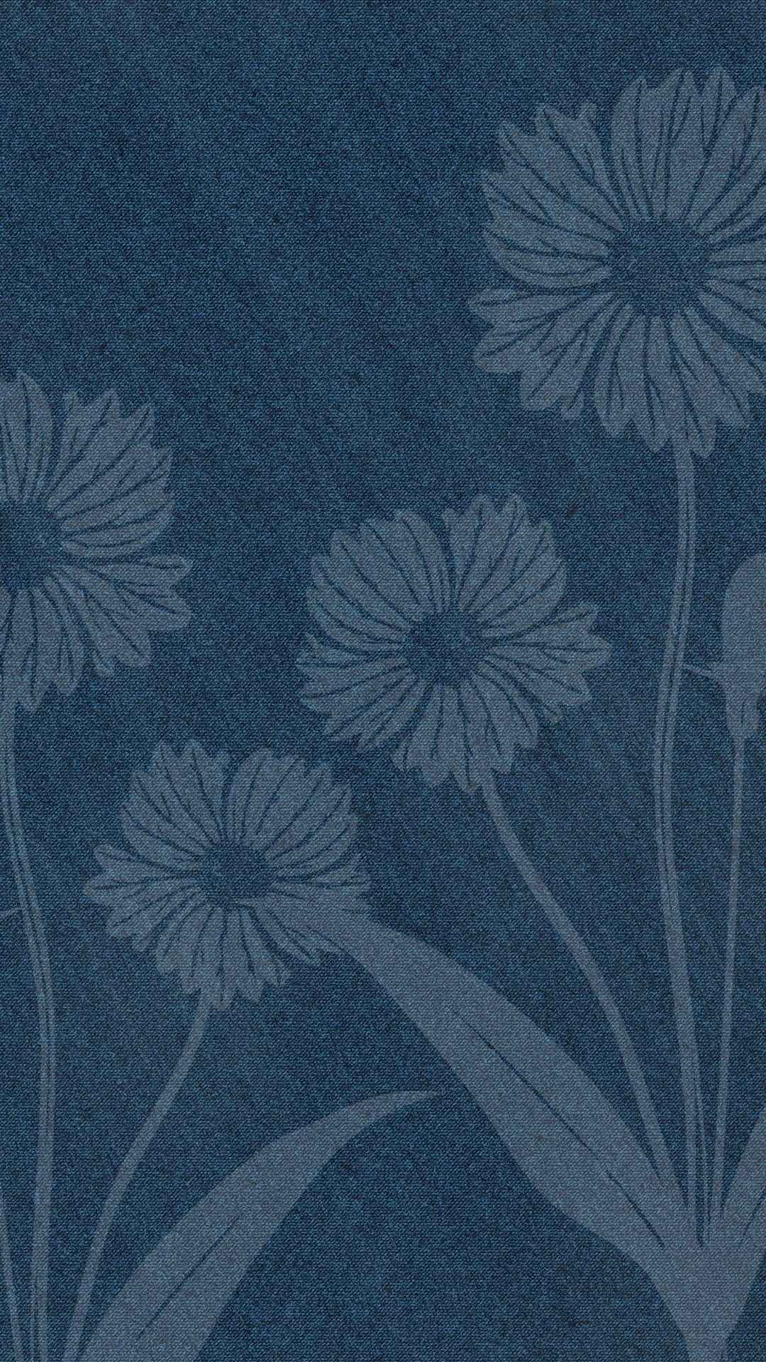 Iphone 6 Wallpaper Denim Daisy 1080x1920 Pixels