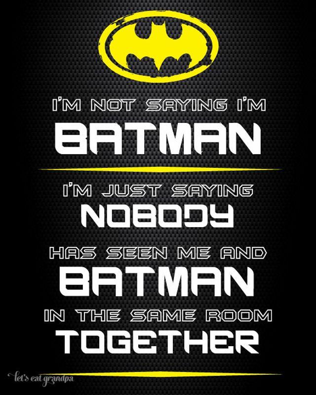 Download Free Batman Printables (Hi-Res PDF) at Let\'s Eat Grandpa ...