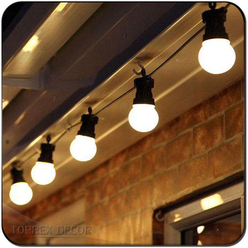 Festive Christmas Garden Party Celebration LED Festoon String Lights 13m
