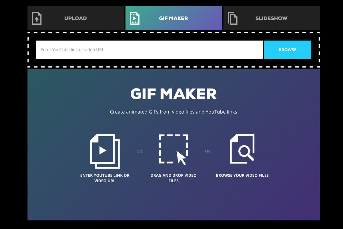 Gif Creator Online Youtube Gif Creator Video Websites Free