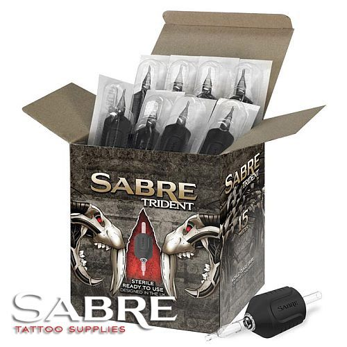 Sabre Tattoo Supplies Trident Tubes
