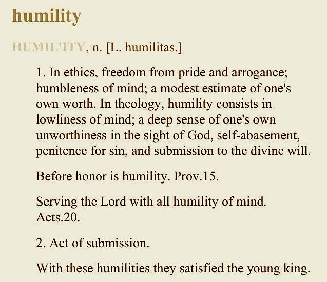 Humble Definition