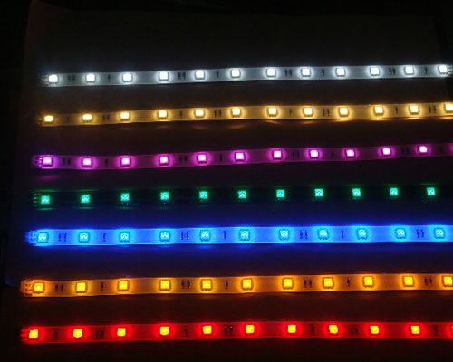 Color changing rgb ribbon led light strip 12v 5m lighting color changing rgb ribbon led light strip 12v 5m mozeypictures Choice Image