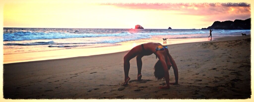 yoga sunset @ Zipolite