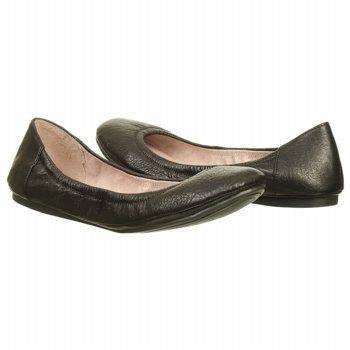 96bdb6ffc6a Women s Vince Camuto Ellen Ballet Flat Black Leather Shoes.com ...