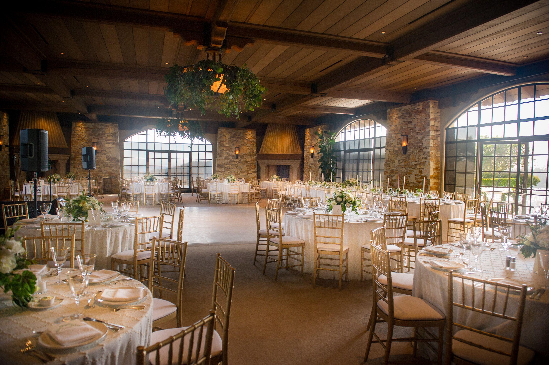 Tavolo Reception ~ Wedding reception in the tehama ballroom tehama golf club carmel