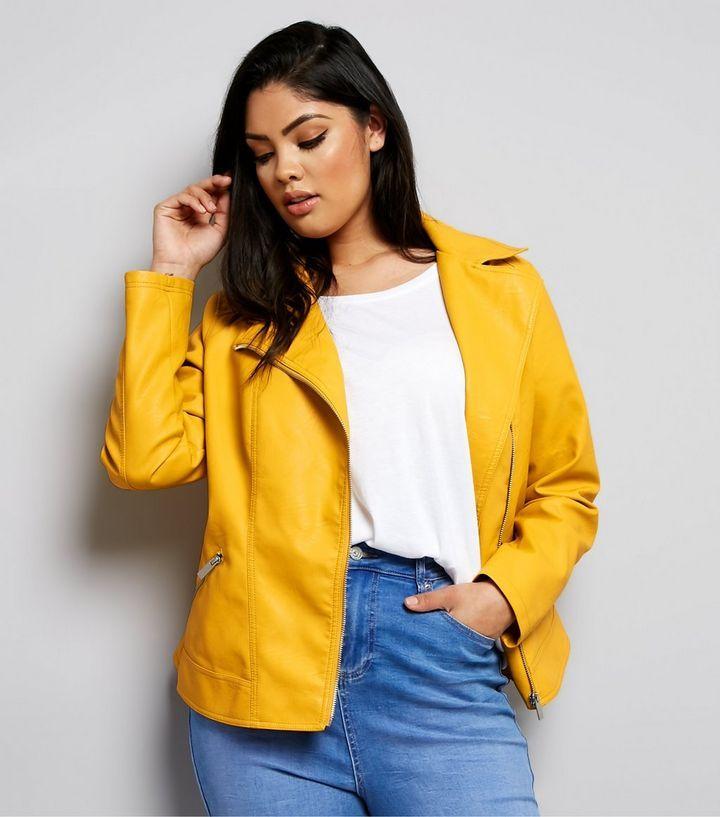 Veste jaune new look