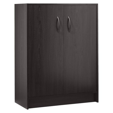 Room Essentials 2 Door Organizer Espresso Door Organizer Utility Storage Cabinets Room Essentials