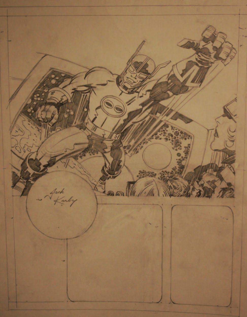 Cap'n's Comics: Stereon (Cap'n 3-D) by Jack Kirby