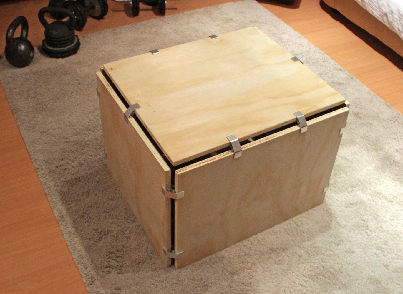DIY Plywood Plyometric Box With PLY90 Clip Bracket