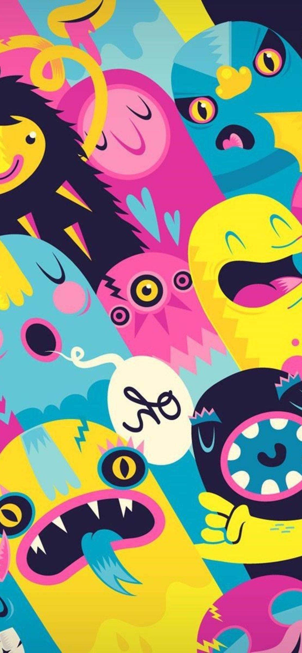 Monsters Iphone wallpaper Iphone wallpaper, Elephant