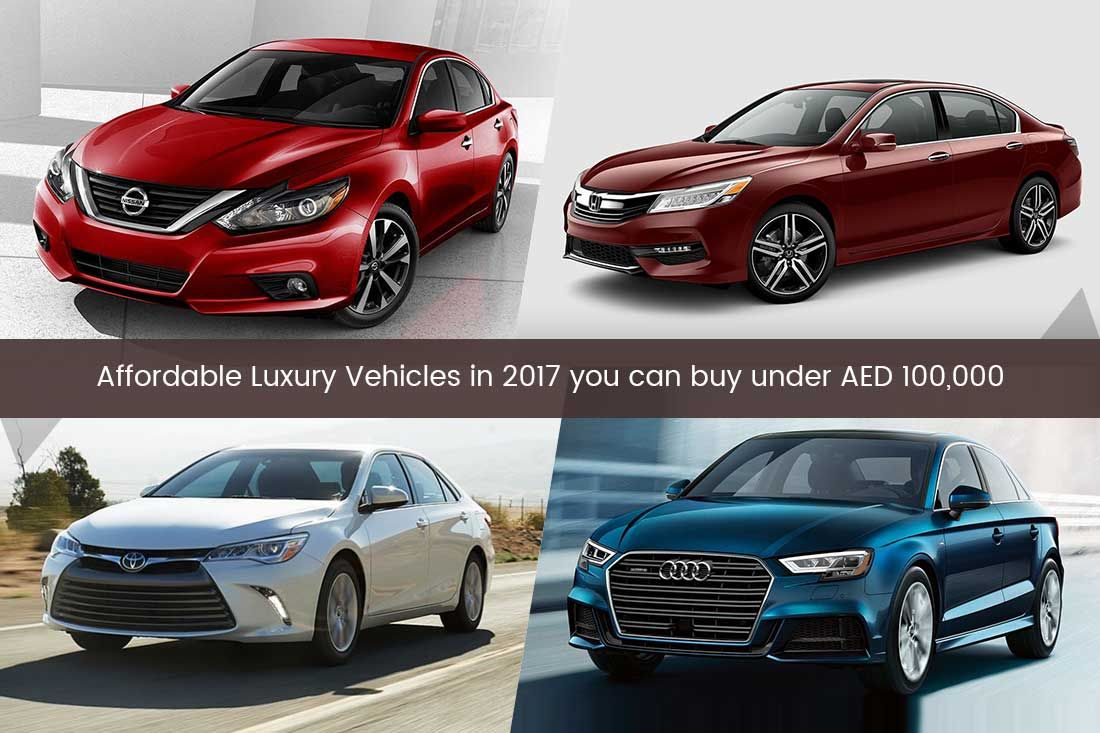 "These ""4 Affordable Luxury Vehicles"" are priced under AED"