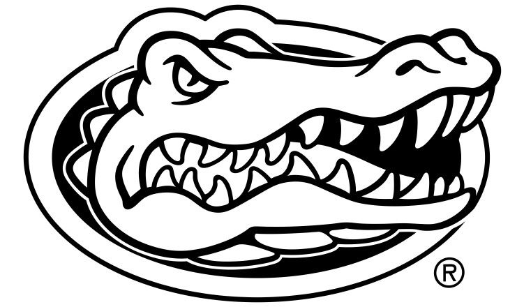 Yeti Official Florida Collegiate Ramblers Gator Logo Logo