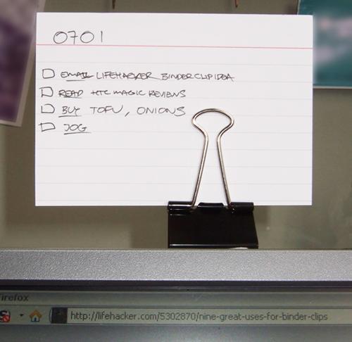 The 20 Best Diy Binder Clip Use Hacks
