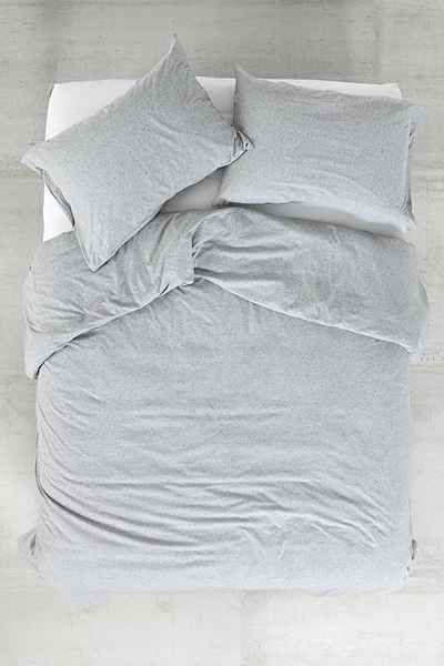 Heathered Jersey Duvet Cover Urban Outfitters In 2021 Duvet Covers Urban Outfitters Duvet Covers Duvet