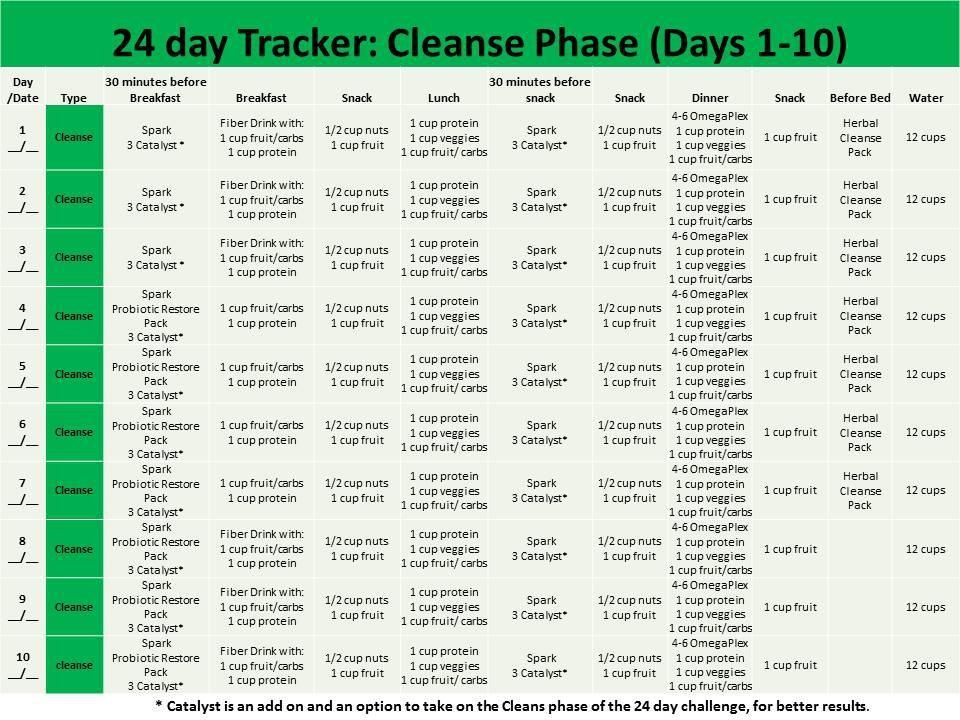 Simplicity image regarding 24 day challenge printable guide