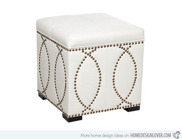 Store Hidden Treasures In 20 Cube Storage Ottomans Luxury