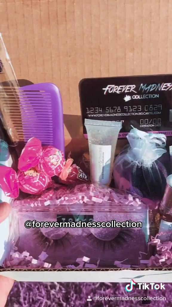 Small Business Tiktok Video Homemade Skin Care Lip Care Beauty Box