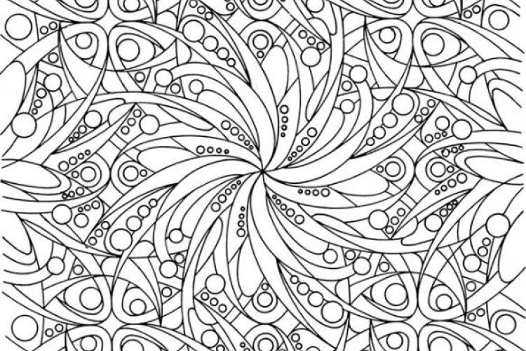 Abstract coloring pages come in many varieties with Mandala coloring ...