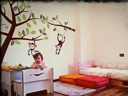 Camerette Montessori ~ Montessori la cameretta montessori babies and big girl bedrooms