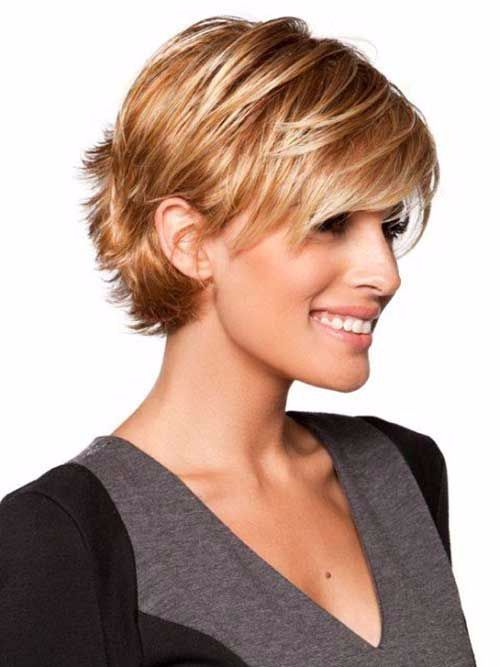 Short Hairstyle For Women With Thin Hair Jpg 500 Haircuts Oval Faceshaircuts Fine