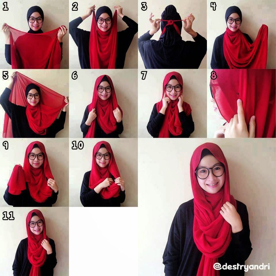 How To Wear Hijab With Glasses HIJAB FASHION INSPIRATION Hijab