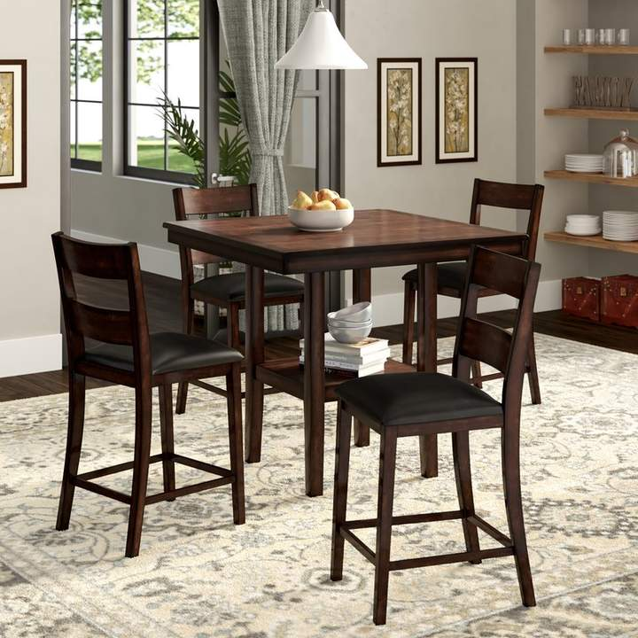 Winston Porter Juno 5 Piece Counter Height Dining Set In 2019