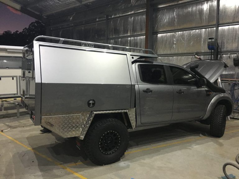 Ford Ranger 4wd Custom Canopy Tray Penny Industries In 2020 Ford Ranger Custom Ford Ranger Ute Canopy