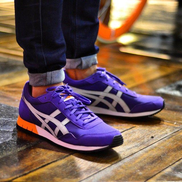 finest selection 3a9a7 afbcc Onitsuka Tiger Curreo: Purple | •Kicks • | Onitsuka tiger ...