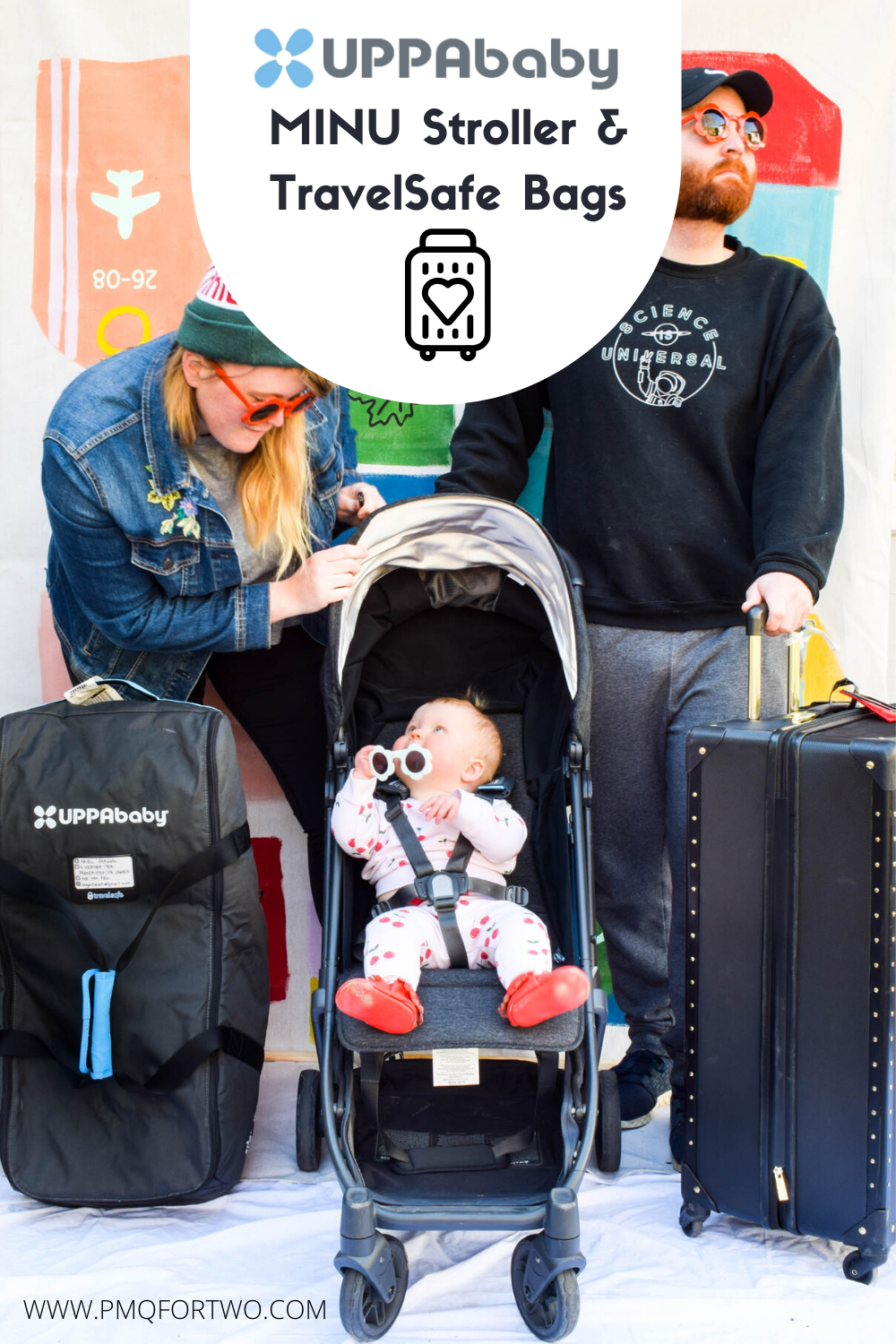 UPPAbaby MINU Stroller & TravelSafe Bag Review • PMQ for two
