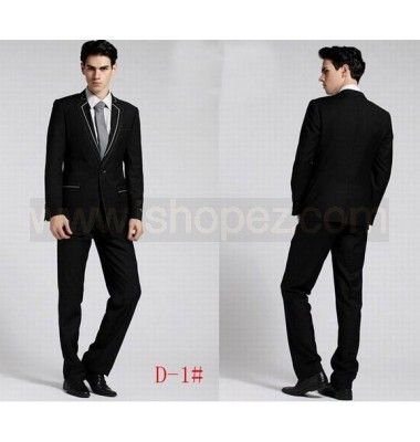 Men's Top Design Sexy Slim Fit Blazers Suit Coat Jackets Outerwear ...