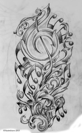 Musical Filigree Filigree Tattoo Tattoos Female Face Drawing,Simple Corner Border Designs For Projects
