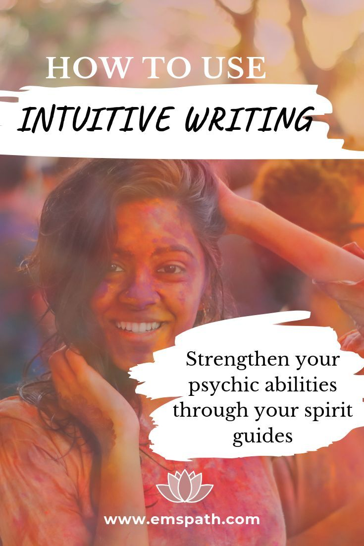 How to Use Intuitive Writing to Enhance Your Psychic Abilities Are you looking for a way to strengthen your communication with your spirit guides and strengthen your psyc...
