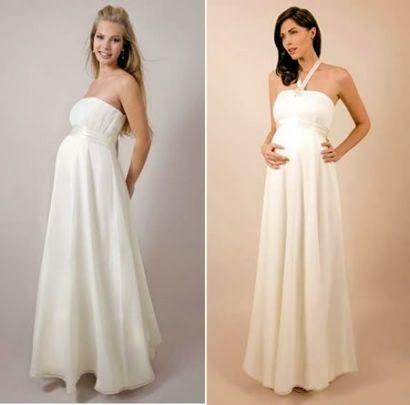 Grandiosos Vestidos de Novias para embarazadas   Vestidos de novias ...