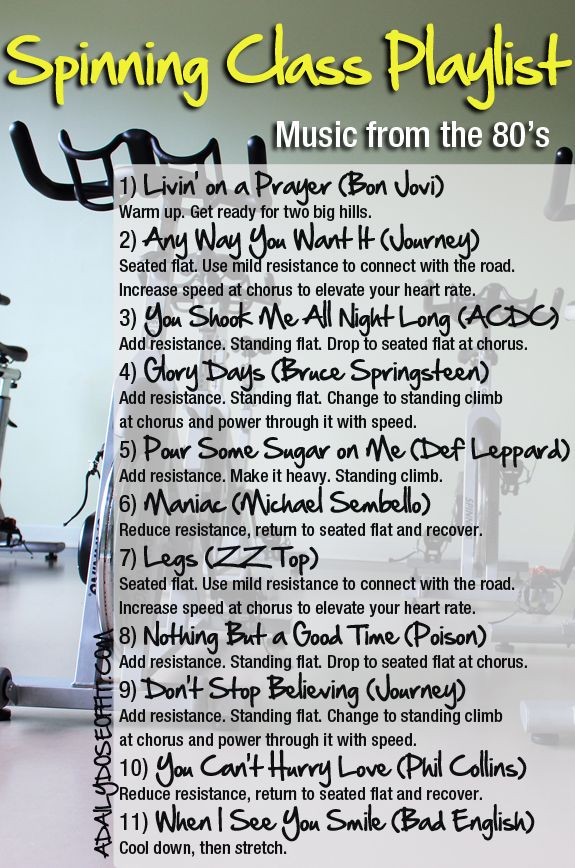 Need A Playlist Idea For Your Next Group Cycling Class Take Your