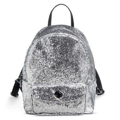 Backpack Handbags XHIL SIL SOLID Zip Closure