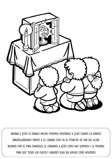 La Catequesis Explicación Con Imágenes Para Niños Sagrado Corazón