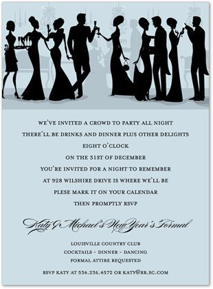 Image result for formal holiday party invitations Burnham - formal dinner invitation sample