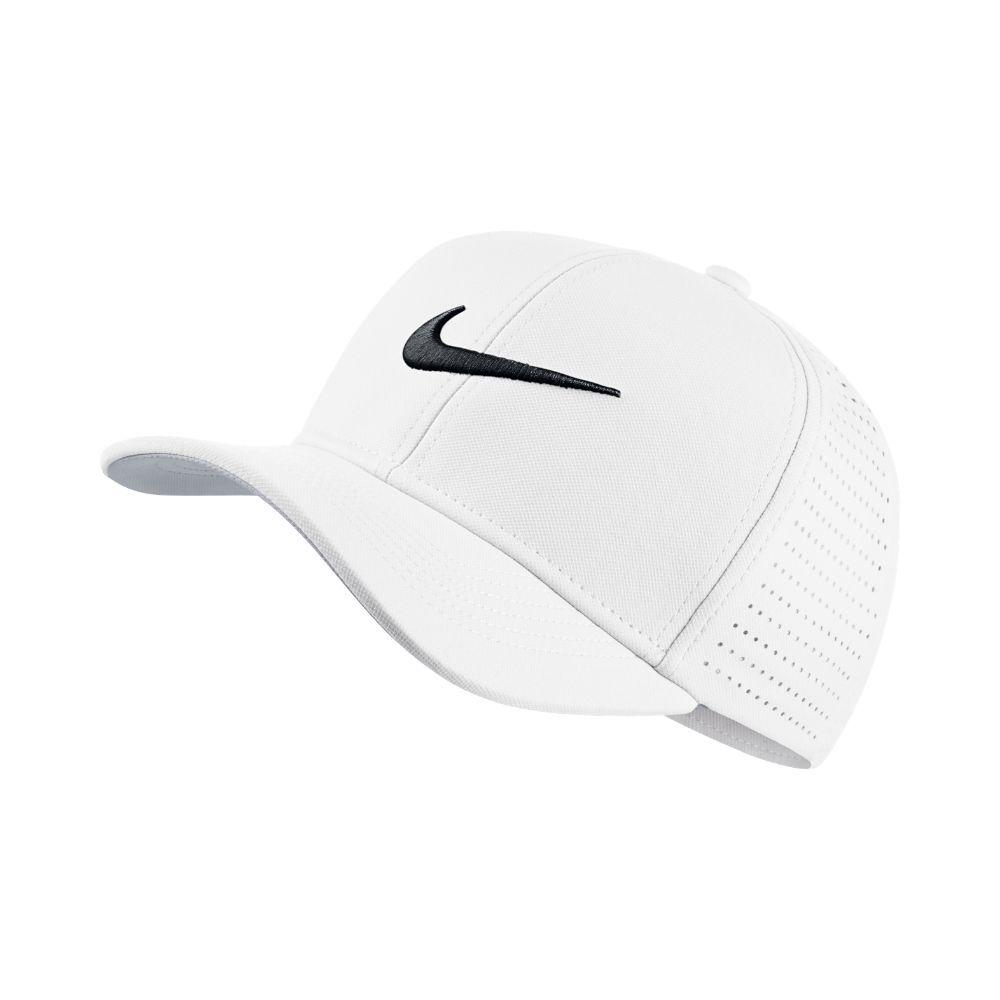 Nike Classic 99 Kids  Adjustable Golf Hat (White)  d6fbd0553dc