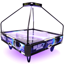 Brilliant Galaxy Collision Quad Air 4 Player Coin Operated Air Hockey Interior Design Ideas Tzicisoteloinfo