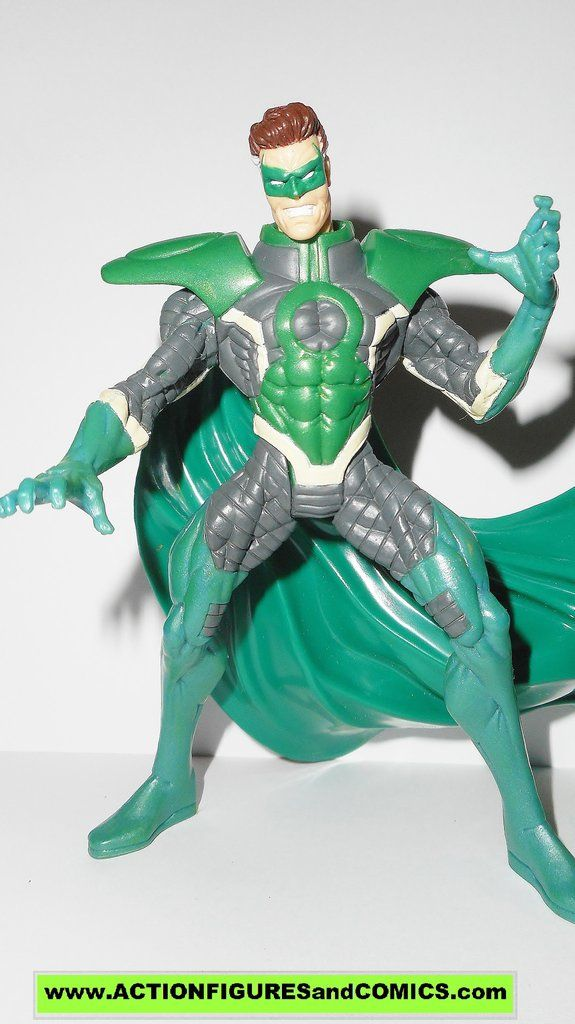 Total Justice JLA PARALLAX hal jordan green lantern kenner toys action figures