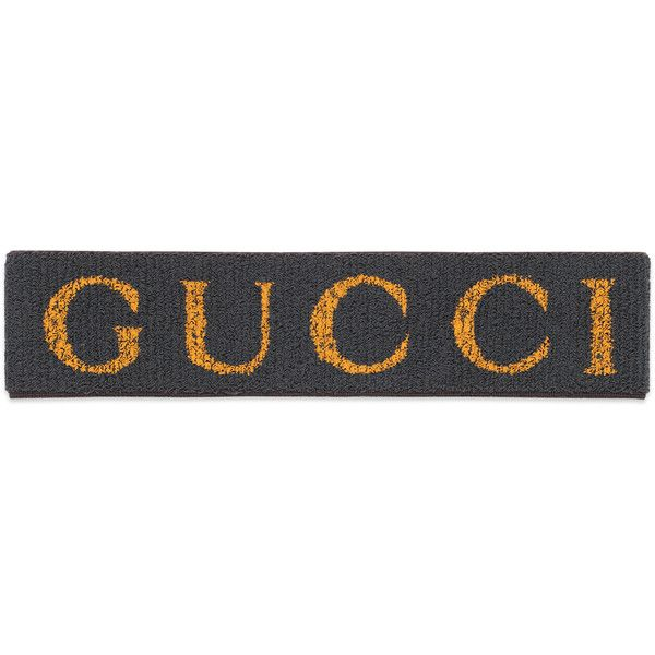 Elastic Gucci Headband ( 270) ❤ liked on Polyvore featuring accessories b67d90e472e