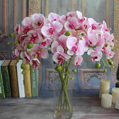 Artificial butterfly orchid silk flower wedding party fake home cheap artificial butterfly orchid buy quality butterfly orchid directly from china decoratives silk flower suppliers artificial butterfly orchids mightylinksfo
