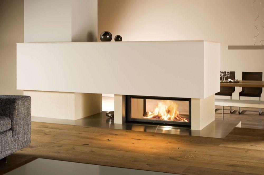 Geradlinig-modern - Kachelofen-management Lisa Fasching ... Wohnzimmer Modern Mit Ofen