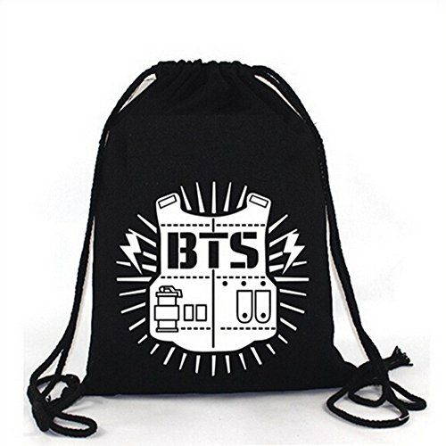 Kpop Bts Love Yourself Canvas Shouder Bag World Tour Cute Mini Satchel Pouch Bag Outstanding Features Costume Props Costumes & Accessories