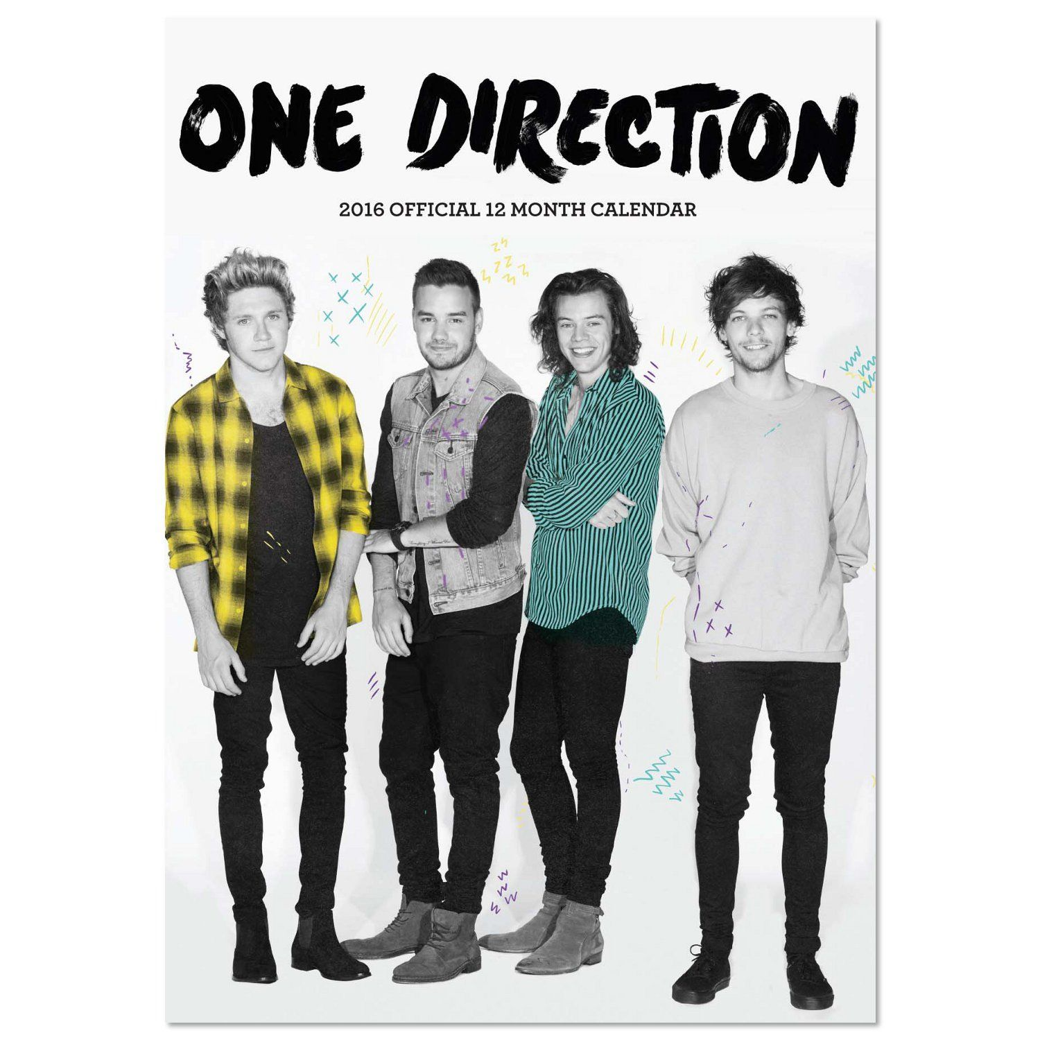 One Direction - Official One Direction 2016 Calendar